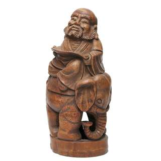 Bamboo Root carving