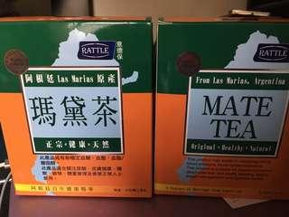 健康飲品 瑪黛茶 Mata Tea 2盒