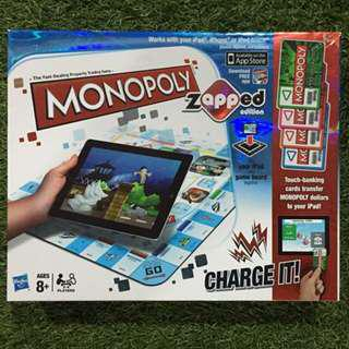Monopoly Board Game *using iPad to play*