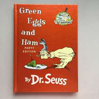 Dr. Seuss Books (party edition)