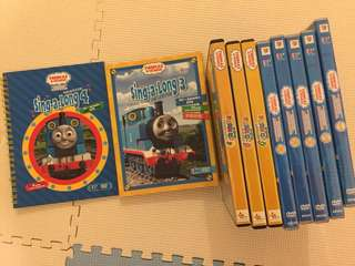 Thomas series and sing-a-long DVD