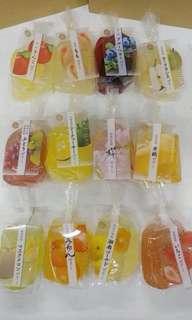 日本雜果汁啫喱(𥚃面有果肉)
