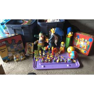 The Simpsons Giant Collection Lot