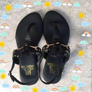 🚚 夾腳涼鞋(黑)