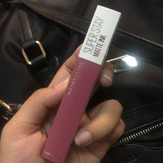 FREE ONGKIR JABODETABEK MAYBELLINE SUPER STAY MATTE INK SHADE 15 LOVER