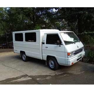 L300 van for rent ( Company - Family Outing )