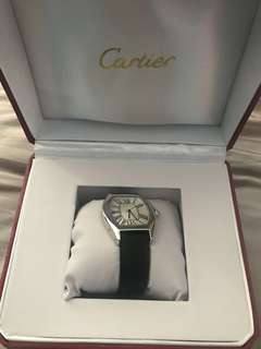 AUTHENTIC USED Cartier Roadster Leather Strap