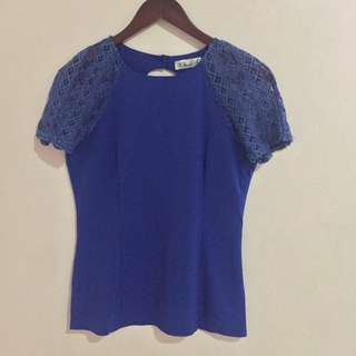Blue Top from Singapore