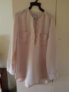 BEIGE Formal Blouse