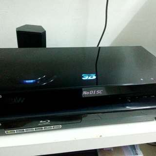 Samsung 3D blue ray Player bd c6900