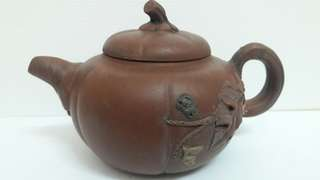 Old Pumpkin Chinese Teapot