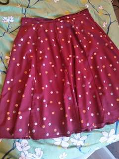 Princess Highway Polka Dot Skirt