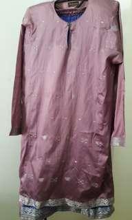 Songket sari baju kurung size M/L
