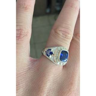 Woman's Custom Toronto Maple Leaf Ring - Collectable