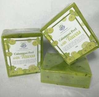 Calamansi Peel with Tawas Soap