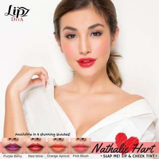 Lipz Diva Slap Me! Lip & Cheek Tint