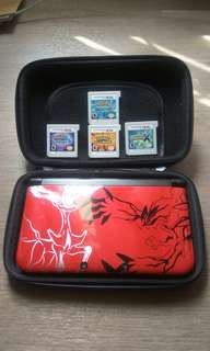 Nintendo 3DS XL special edition and Pokémon game collections