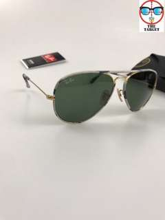 ray ban aviator  lenses rb3025jm 58mm size brand new full packages original made in Italy rayban
