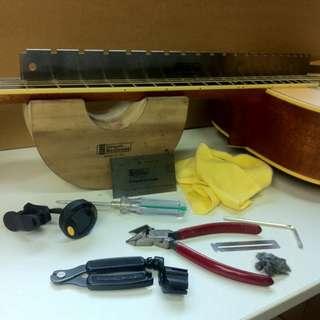 Guitar/Bass Service & Repairs
