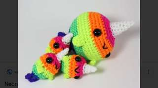 Little narwhal dolls