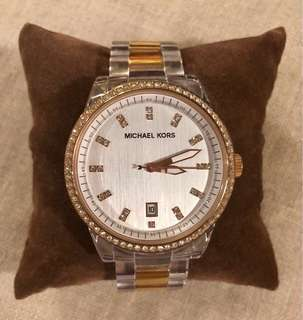 Rose gold Michael Kors women's watch
