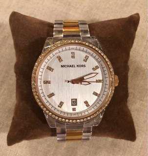 Rose gold Michael Kors women's watch