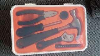 Schaffen 17pcs tool set