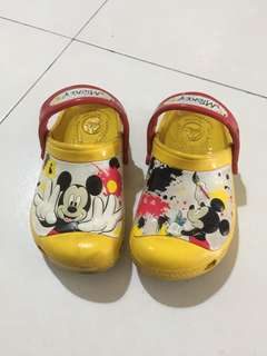 Baby Shoes Crocs original Mikey mouse