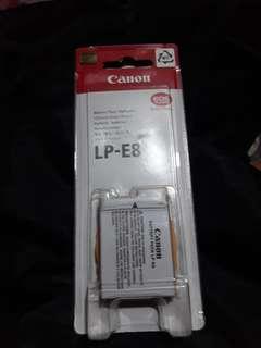 Original Canon Lp-E8 Battery