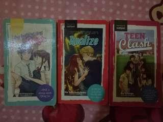 3 Wattpad Books