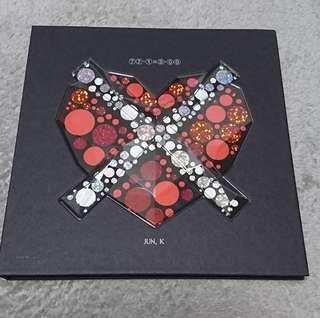 Jun. K from 2pm solo album 77-1X3-00