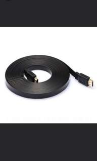 Promotion High quality hdmi cable flat rubber 5m 10m