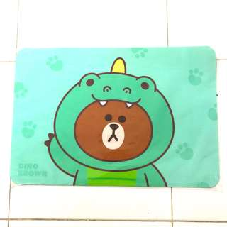 LINE Brown Placemat