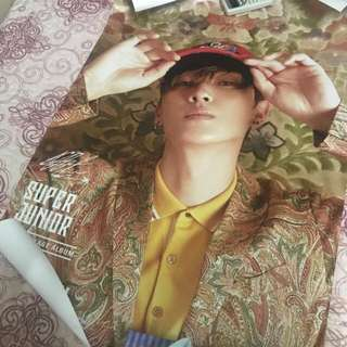 WTT Eunhyuk & Yesung Super Junior Replay Special Edition Poster