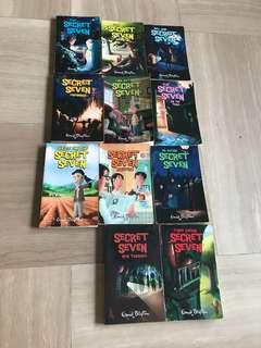 Enid Blyton Secret Seven books