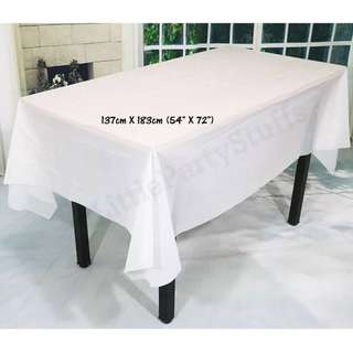 Party Tablecloth (White)