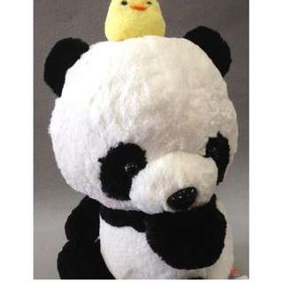 Gororin Panda Plush 48cm (Chick) Cute