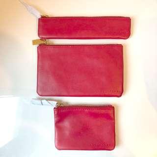 Fendi wallets set of 3