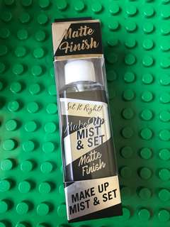 Make Up Mist and Set matte USA better than ELF and NYX