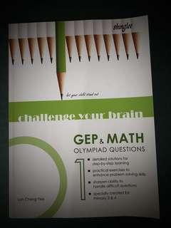GEP math book