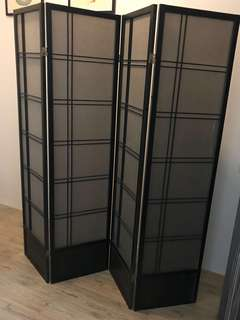 REPRICED: 💯Foldable Wooden Divider   ( retails at 18k)