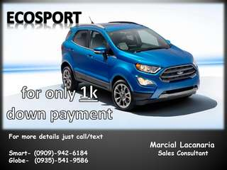 Low Down Payment Ford cars!