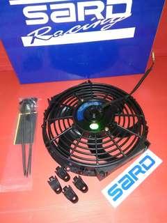 High speed radiator fan