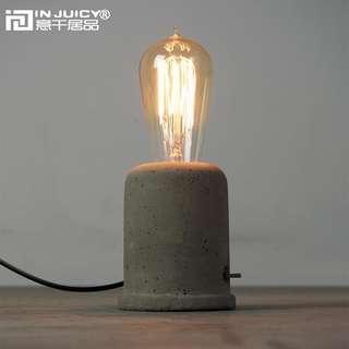 Vintage Light Bulb Stand