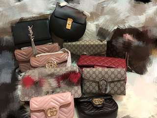 Gucci YSL, Chanel,LV price reflects authenticity