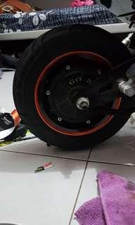 11 inch speed motor