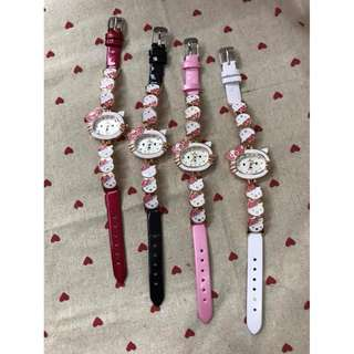 Hello Kitty Girl Kids Watch