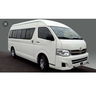 *Hari Raya Promotion - MiniBus Service- 13 seaters with driver, $30 per hour. To pre-book pls contact Mobile No. +65 90066255