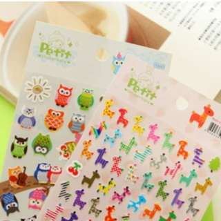 Korean Petit Paper Decorated Sticker
