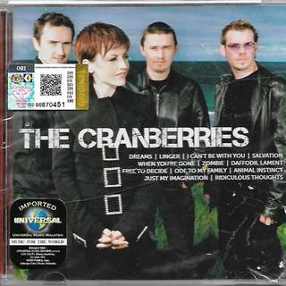 The Cranberries Greatest Hits Collection Imported CD